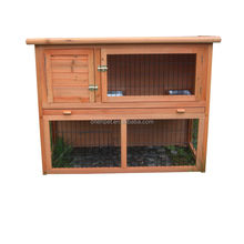 Wooden rabbit hutch Wooden pet house wooden products Ready stocks NTBT3414 ORIENPET & OASISPET Wooden Pet products