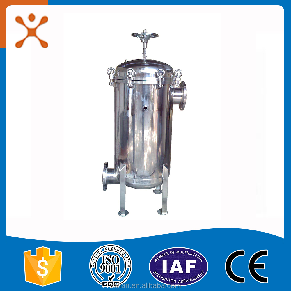 Stainless Steel durable Multi Bag Filter