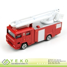 1: 64 Scale Street Scene Die-cast Fire Engine (Welcome OEM Product)
