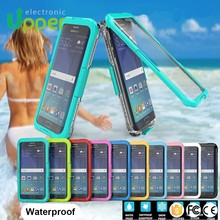 2016 China supplier High Quality hot sale waterproof case for samsung galaxy s6 edge