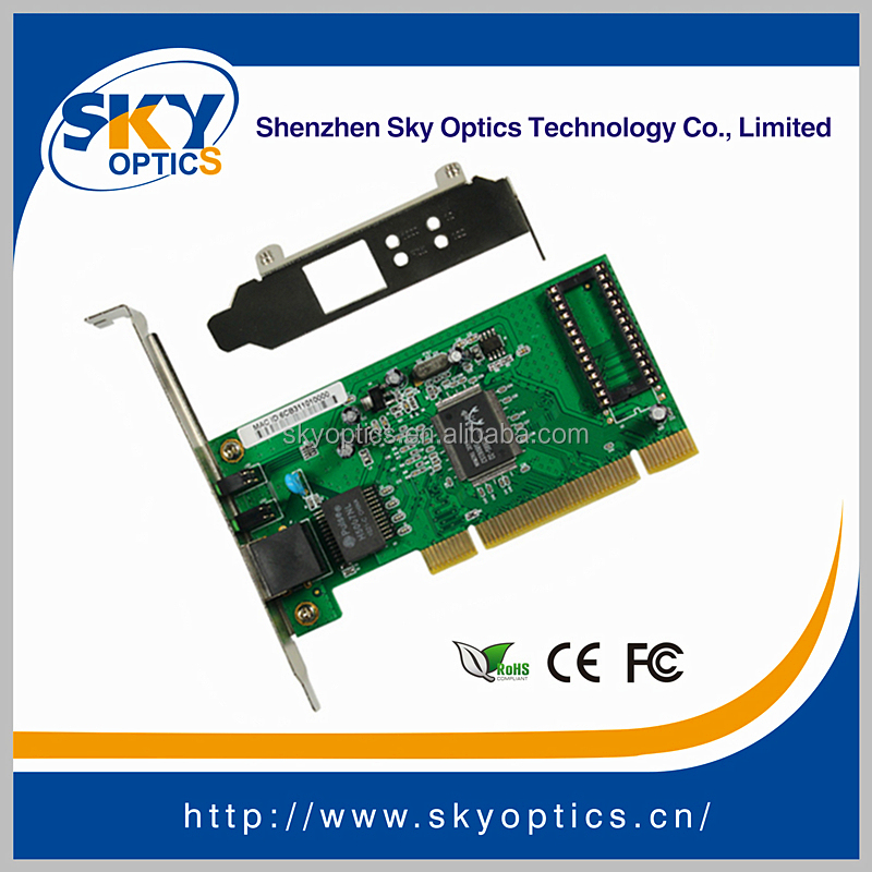 Optical Network Card 10/100/1000M PCI Network Adapter