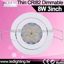 popular new design high CRI harga lampu downlight 2700k 3000k 5000k for distributor