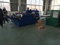Automatic top quality metal stud and track galvanized ibr roof sheet electric cutting machine