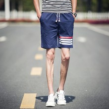 Korea Fashion Men Custom Print Booty Mini Casual Swim Beach Shorts