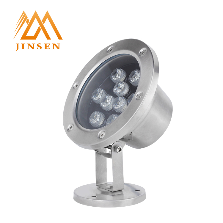 Get coupon AC/DC12V IP67 concealed installation led 9w underwater spot light