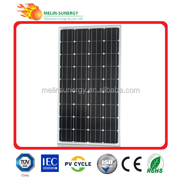 Cheap high quality solar energy 160W Solar Panel 12V
