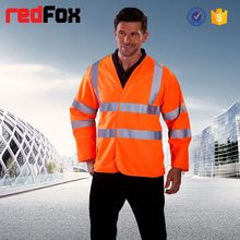 high visibility reflective safety jogging vest running vest