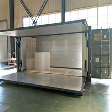 SGS/CE luxtury light steel 2015 Latest modular container house for living/renting/hotel/office/showroom/store