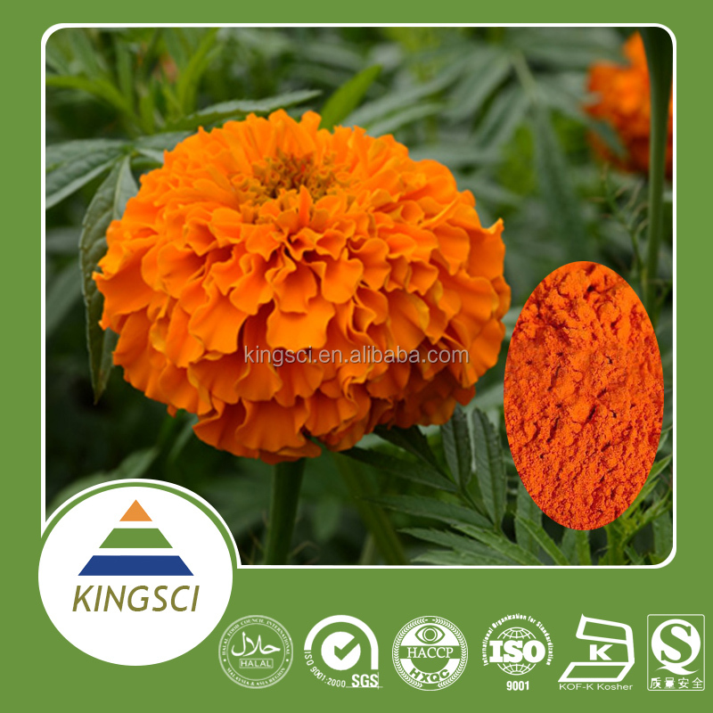 cGMP Manufacturer Supply Food Grade Natural Extraction of Marigold Oleoresin Edible Pigment KS-01