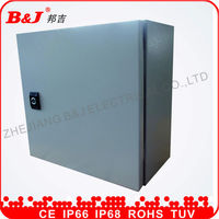 distribution board ip65/electrical zinc plate switch box/metal offering box