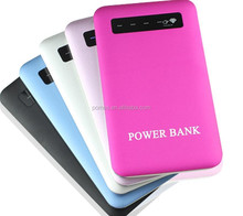 Fashion Design 4000mAh Gift Led Smart OEM Power Bank For Samsung Galaxy Note