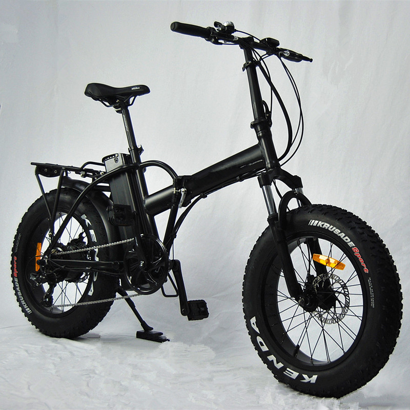 2018 new <strong>CE</strong> 20 inch folding electric bicycle beach cruiser fat tire electric bike adult