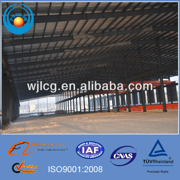 prefabricated warehouse/plastic car garage/warehouse conveyor