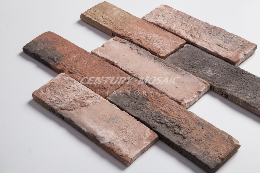 Hot sale Ceramic Antique Surface 2.5 by 8 Inch Culture Stone Brick