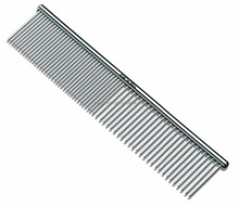 Pet Grooming Comb for Dogs, Stainless Steel