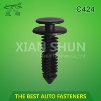 hot sell automobile plastic clips for cars