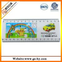 high end office supplies ps material thick plastic ruler