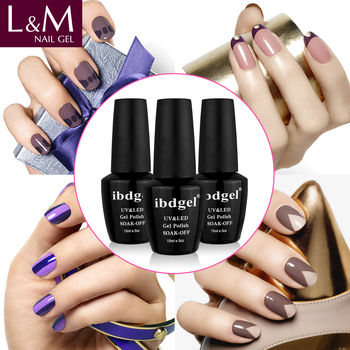 Wholesale UV Nail Gel IbdGel 602 colors for chooes