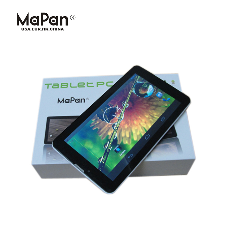 "Mapan 7 inch dual core dual sim tablet pc android 3g tablet/ cheapest 7"" tablet android 4.4 mobile phone"