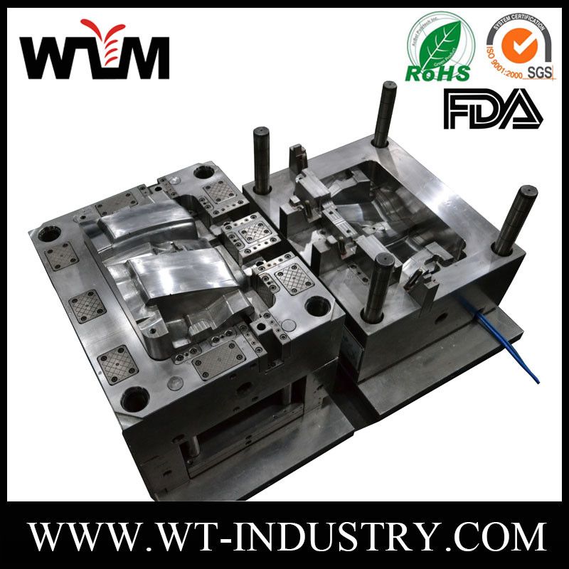 European High Precision Custom Made ABS/ABS+PC/HIPS Plastic Parts Injection Mold for export