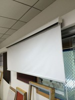 2015 good quality screen roller curtain for projector made in china