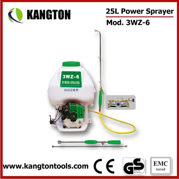 3WZ-6 25L Knapsack Agricultural Power Sprayer 2 Stroke Engine Sprayer