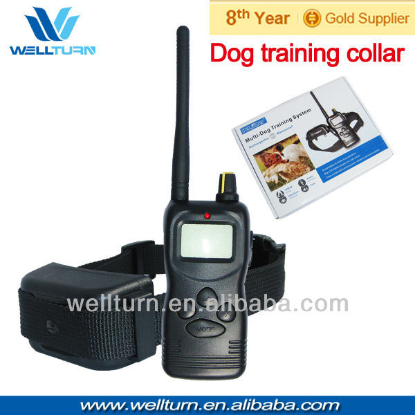 China new support illusion collar for dogs