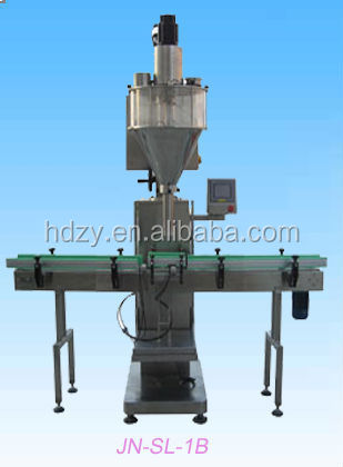 Automatic Linear Plaster Powder Bottles&Cans Filling Machine,Powder Filler