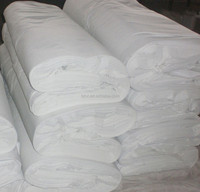"t/c 90/10 45*45 110X76 44/45"" bleach white fabric/width grey fabric cotton fabric wholesale/ factory price polyester cotton fabr"