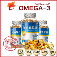 Omega 3 Softgels OEM in Bulk with DHA EPA Fish Oil Softgels