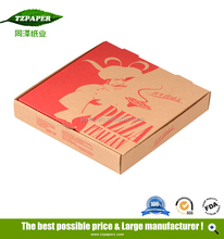 "Accepted weight shape 30"" corrugated cardboard pizza boxes Italy"