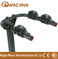 Folding Hitch Mounted Car Trunk 2 Bikes Rack Hanging Bike Rack