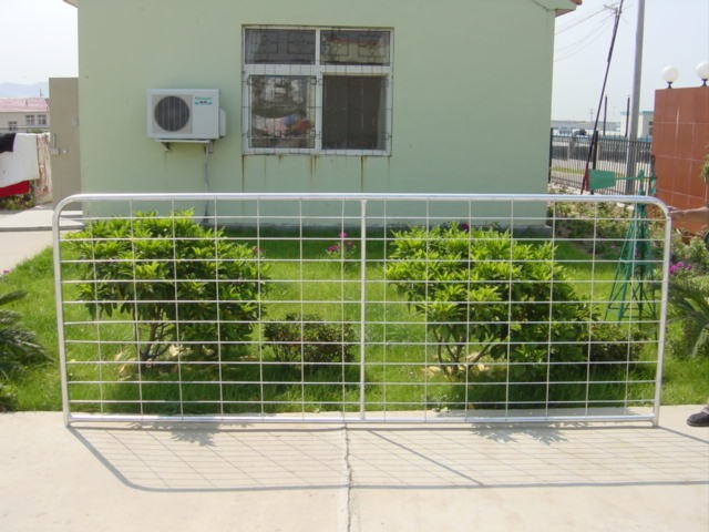steel farm fence gates