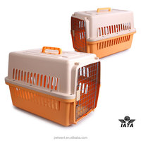 hot-selling plastic animal cage travel carrier