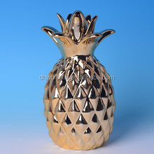 Hotsale home decoration ceramic pineapple