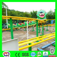 Plaza amusement item kids and parents train ride attraction games