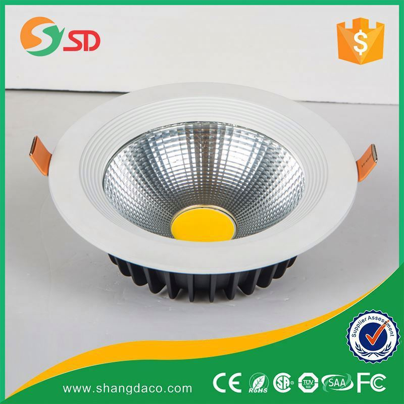 Shangda High cri color change dimmable 30w cob led downlight