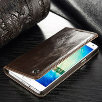 Slim Flip Leather Wallet Case,mobile phone case card holder wallet for Samsung galaxy A3 A5 A7