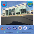 China ISO9001 prefabricated construction building light steel warehouse for equipment