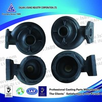 Machined cast iron pump body for water pump industry