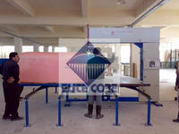 Vertical Cutting Foam Machine/ Manual Cutting Foam Equipment