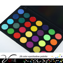 Makeup kits private label cosmetics wholesale 28 color eyeshadow