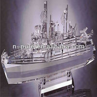 Splendid Crystal Ship Model