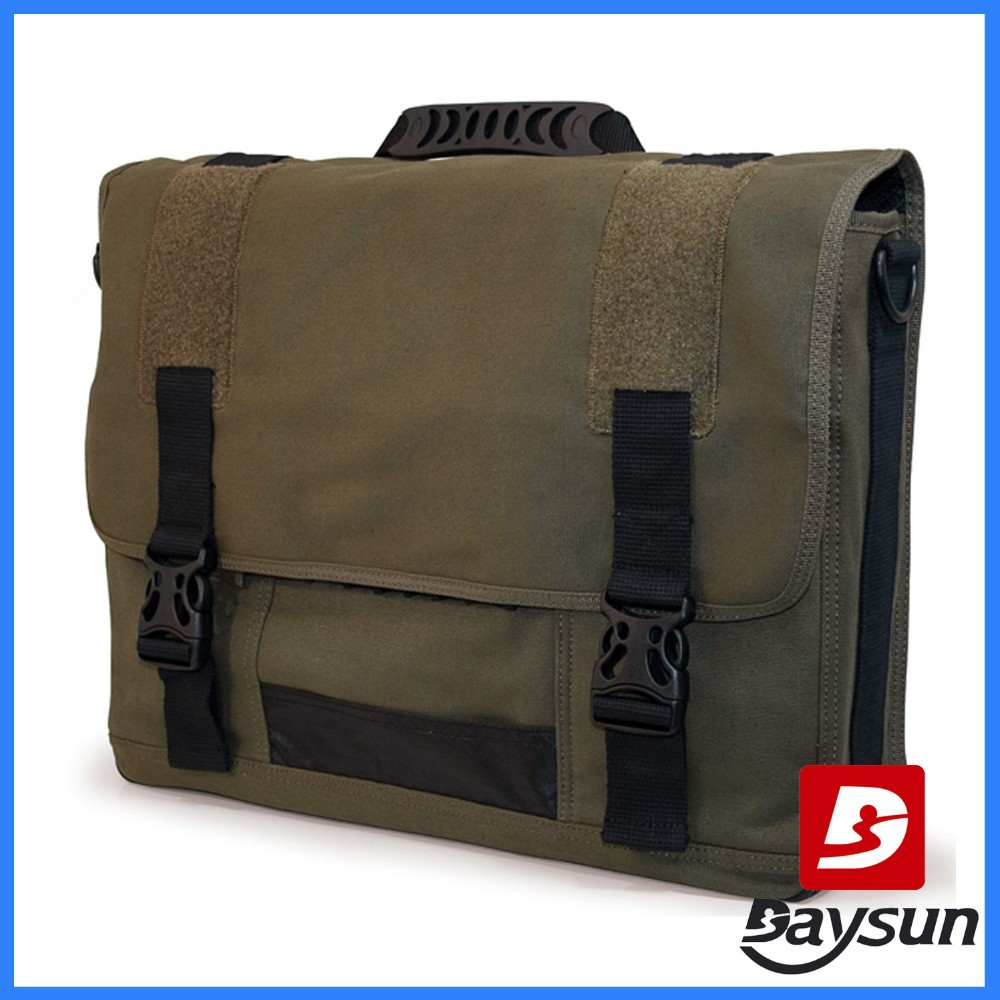 natural cotton canvas 17.3 inch laptop bag