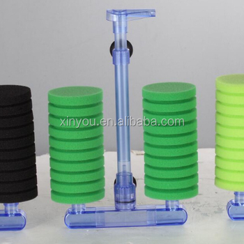 2018 new-style LVNENGJIA sponge filter without pump LN80
