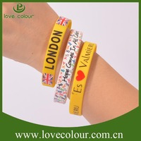 Factory wholesales and giveaway gifts custom silicone wrist band