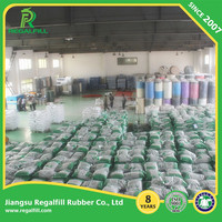 Hollow Green Rubber Granules For Artificial