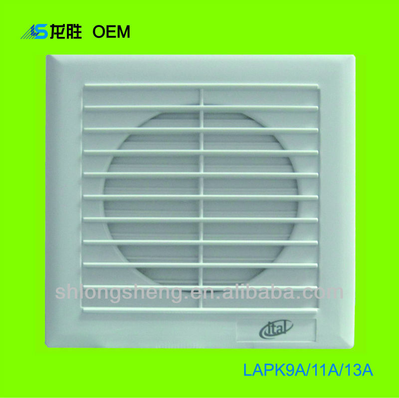 CE,CB Approved Bathroom Wall Mounted Exhaust Fan - LAPK9A/11A/13A