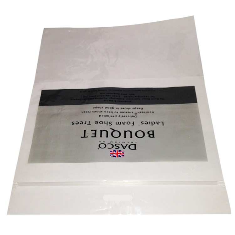 Yason high quality clear clothes zipper bag plastic zip lock poly bags