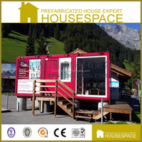 Beautiful Modular Flat-pack Food Container House From China